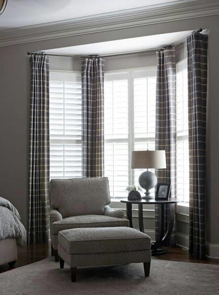 《華之逸窗簾》窗簾推薦 橫條紋窗簾