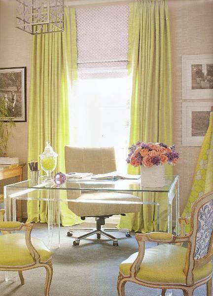 餐廳窗簾綠色.jpg