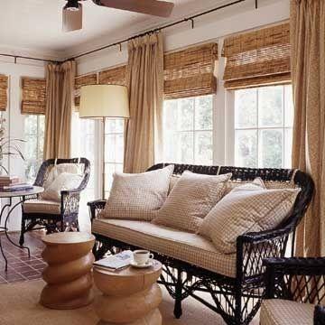 日式和風窗簾