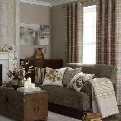 蘇格蘭格紋窗簾
