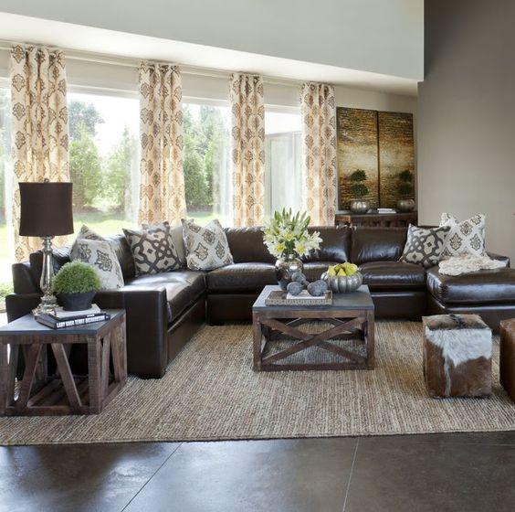 花紋窗簾與風格搭配