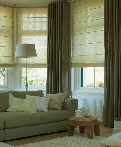 墨綠色窗簾