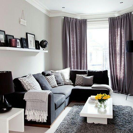 紫灰色窗簾色系挑選的小變化