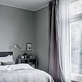 華之逸窗簾 灰色布簾