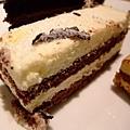 熊貓蛋糕的一角