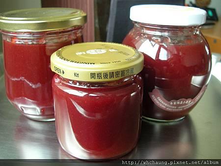 1010607紅皮黃肉李子果醬SANY0198