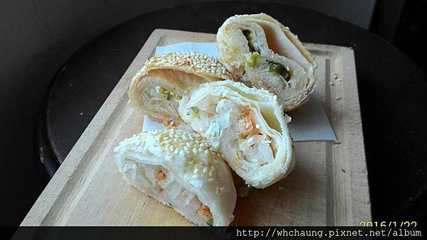 105.01.22蟹殼黃+蘿蔔絲酥餅