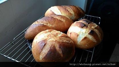 105.05.16水波爐法國麵包1