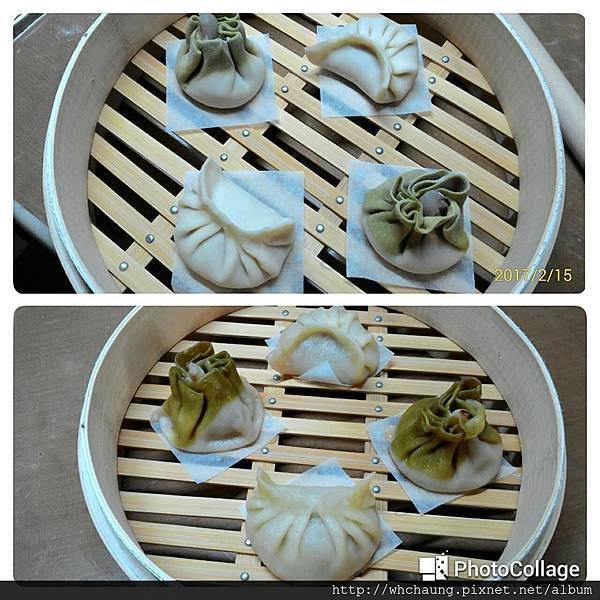 106.01.15蒸餃+蟹肉翡翠燒賣