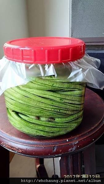 106.07.12醃長豆
