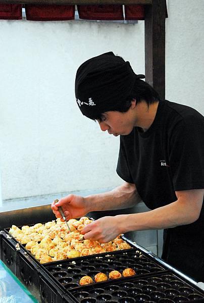 認真的章魚燒最好吃!!