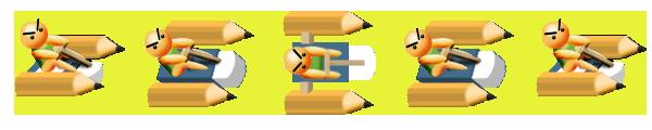 Pencil 機 Down