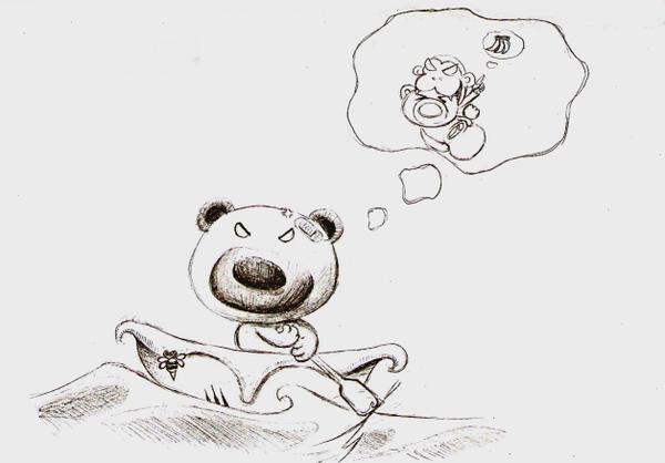 離家出走的熊熊