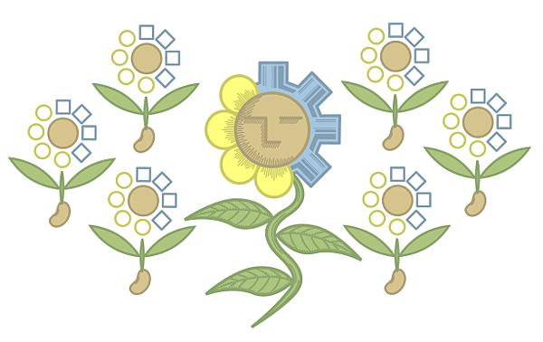 矛盾融合花
