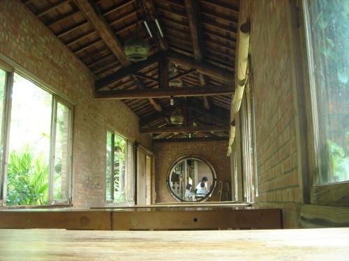 華陶窯。廊