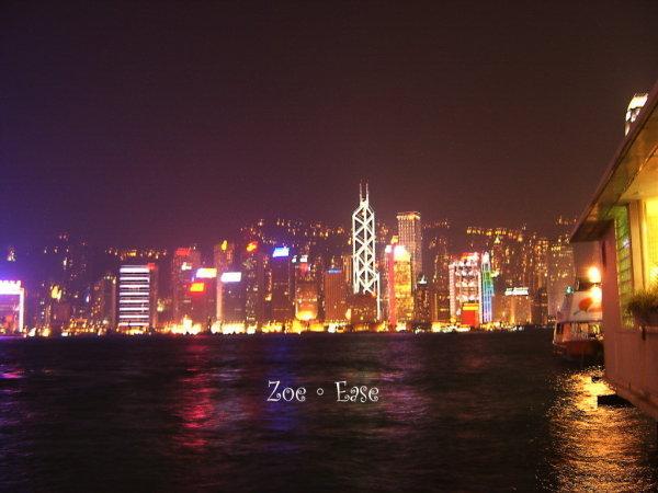 在維多利亞的香港
