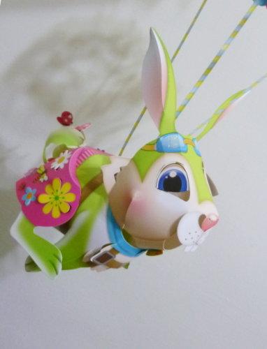 Feb. 28|燈會。飛天兔