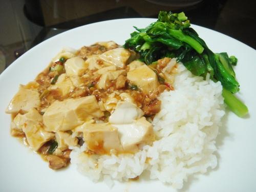 《麻婆豆腐》燴飯
