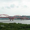 熟悉的關渡橋