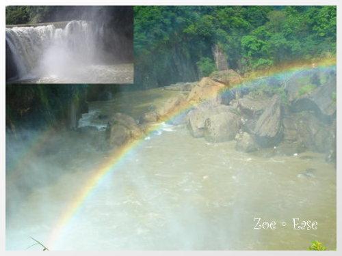 水霧裡的彩虹