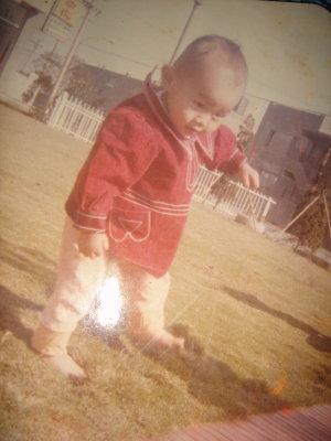 我也有小時候