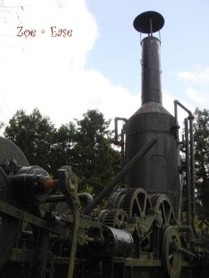 古老集材機