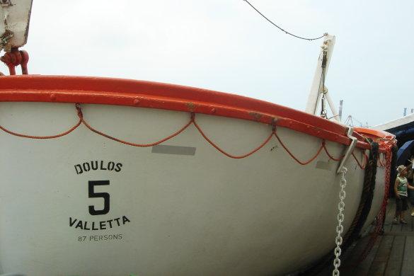 Mr. Doulos-救生艇