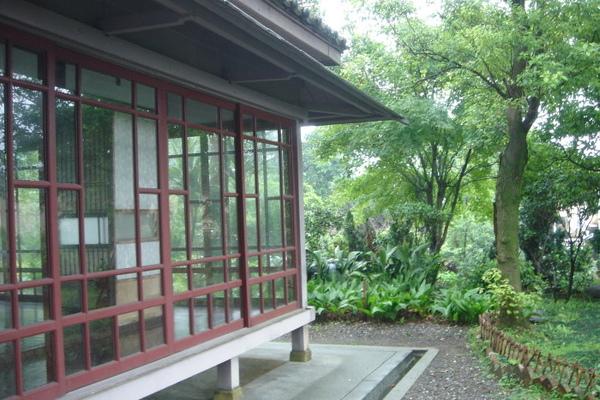 太子賓館-側廊