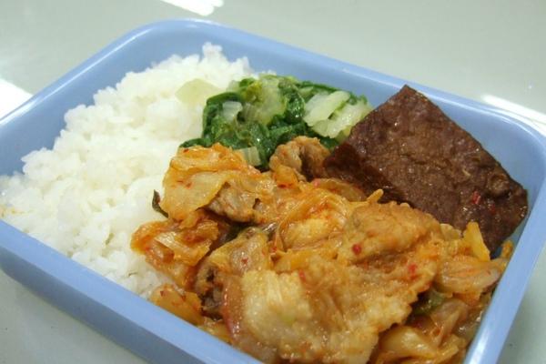 韓式泡菜肉片