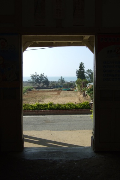 新埔。靠海的車站