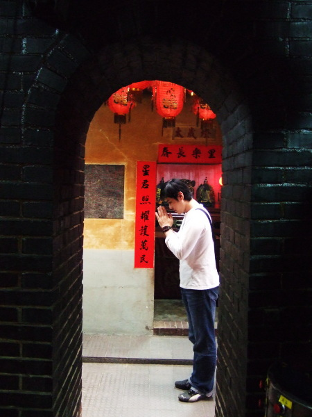 房裡老街。300年歷史的順天宮