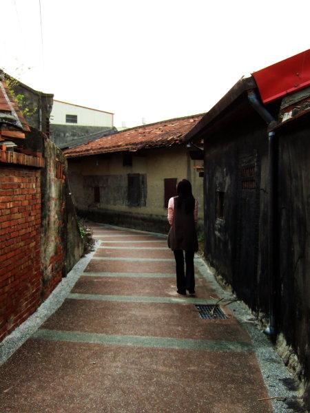 房裡後巷。彎彎曲曲的小巷