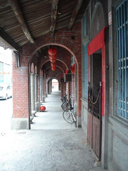 頭城老街。十三行