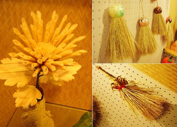 珍珠社區。稻草物