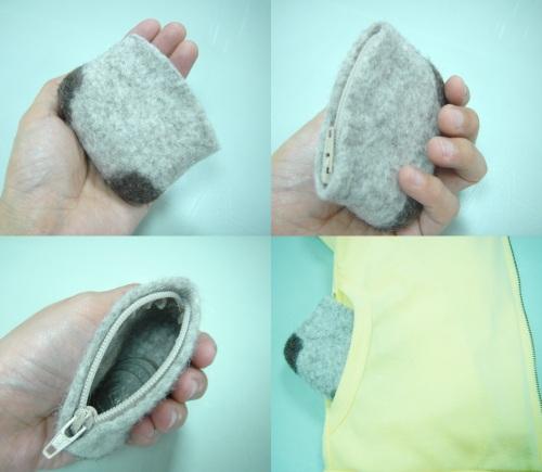 May. 11 mini旅行袋|我要的size,是輕鬆放入小外套的小口袋的大小,一切剛好^^