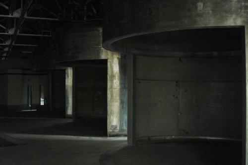 宜蘭酒廠。酒槽