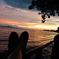 淡水河。夕陽7