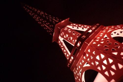 Feb. 20|巴黎鐵塔。點燈。