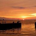 淡水河。夕陽4.