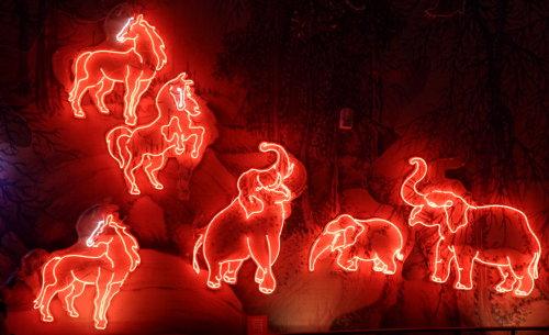 Feb. 28|燈會。百獸獻瑞