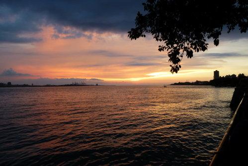 淡水河。夕陽6