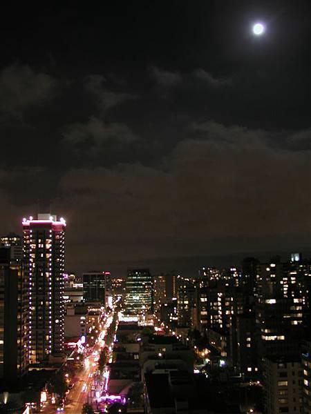 從飯店看溫哥華夜景