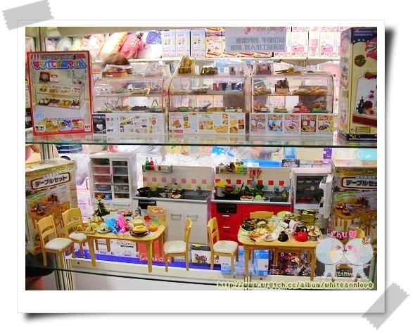 食玩櫃整體照
