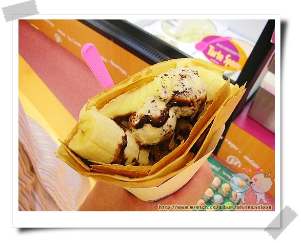 安的*香蕉卡士達醬&巧克力脆片
