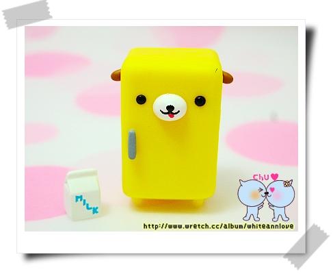第3彈*小黃冰箱