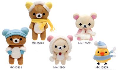 冬季懶懶熊*全5款