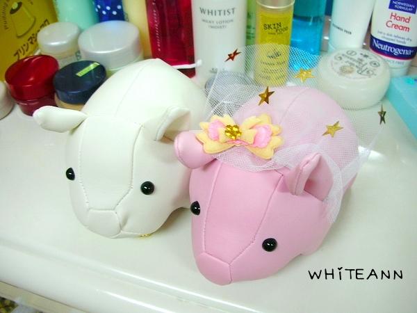 可愛的婚紗豬