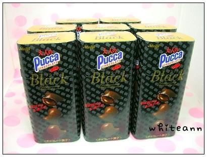 明治PUCCA黑巧克力餅乾