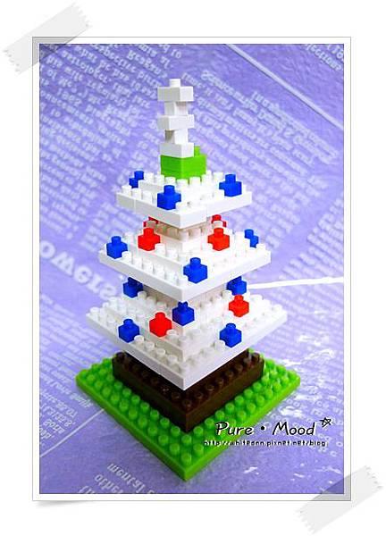 安自創的聖誕樹