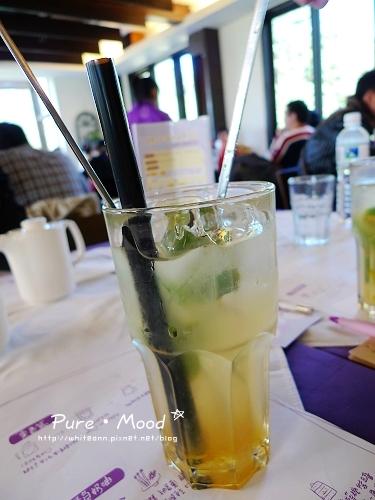 『檸檬草柚子冰茶』